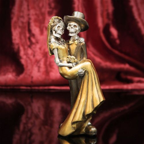 Day Of The Dead  Newly Wed Couple Figurine Ornament